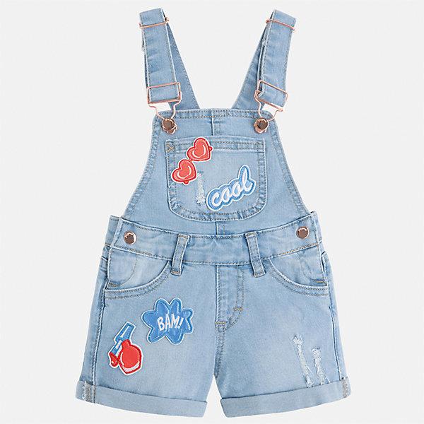 Комбинезон джинсовый для девочки Mayoral, Китай (КНР)