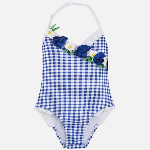 Mayoral Купальник слитный для девочки Mayoral купальник слитный для девочки arina festivita цвет синий gi 011806 af размер 152 158