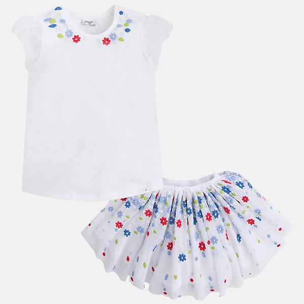 Комплект: топ и юбка для девочки Mayoral, Китай (КНР)