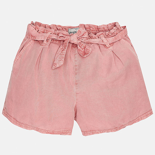 Шорты для девочки MayoralШорты, бриджи, капри<br>Характеристики товара:<br><br>• цвет: розовый<br>• состав: 100% лиоцелл<br>• свободный силуэт<br>• есть пояс<br>• пояс - резинка<br>• страна бренда: Испания<br><br>Стильные легкие шорты для девочки смогут разнообразить гардероб ребенка и украсить наряд. Они отлично сочетаются с майками, футболками. Красивый оттенок позволяет подобрать к вещи верх разных расцветок. Интересный крой модели делает её нарядной и оригинальной. <br><br>Одежда, обувь и аксессуары от испанского бренда Mayoral полюбились детям и взрослым по всему миру. Модели этой марки - стильные и удобные. Для их производства используются только безопасные, качественные материалы и фурнитура. Порадуйте ребенка модными и красивыми вещами от Mayoral! <br><br>Шорты для девочки от испанского бренда Mayoral (Майорал) можно купить в нашем интернет-магазине.<br>Ширина мм: 191; Глубина мм: 10; Высота мм: 175; Вес г: 273; Цвет: розовый; Возраст от месяцев: 84; Возраст до месяцев: 96; Пол: Женский; Возраст: Детский; Размер: 128/134,164,158,152,140; SKU: 5292687;