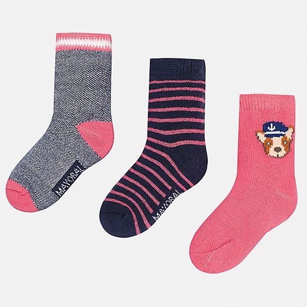 Mayoral Носки (3 пары) для мальчика Mayoral носки 3 пары infinity kids для девочки цвет мультиколор
