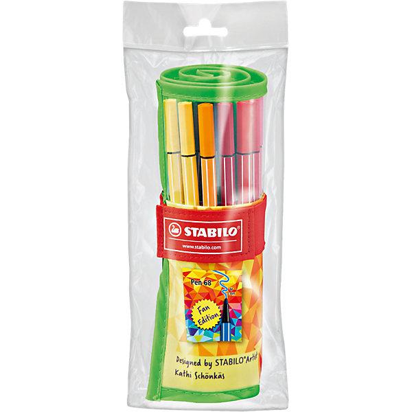 STABILO Фломастеры Stabilo Pen fan, 25 цветов