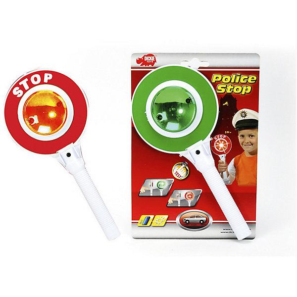 Dickie Toys Сигнал регулировщика со светом, 25 см, Dickie Toys автотрек dickie simba 3083077 спайдер мэн