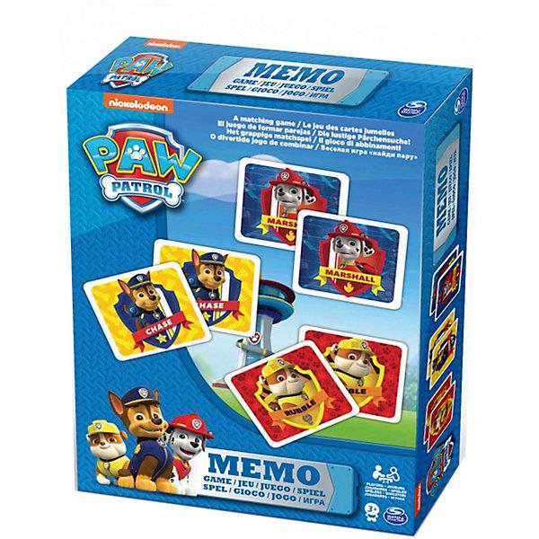 Купить Игра Мемори 48 карточек, Щенячий Патруль, Spin Master, Китай, Унисекс