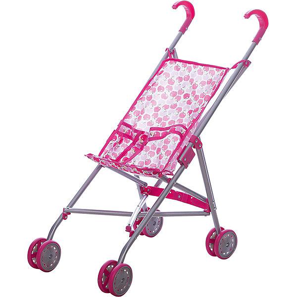 Melobo Коляска-трость для кукол, яблочки, Melobo коляска трость коляска трость baby care gt4 violet