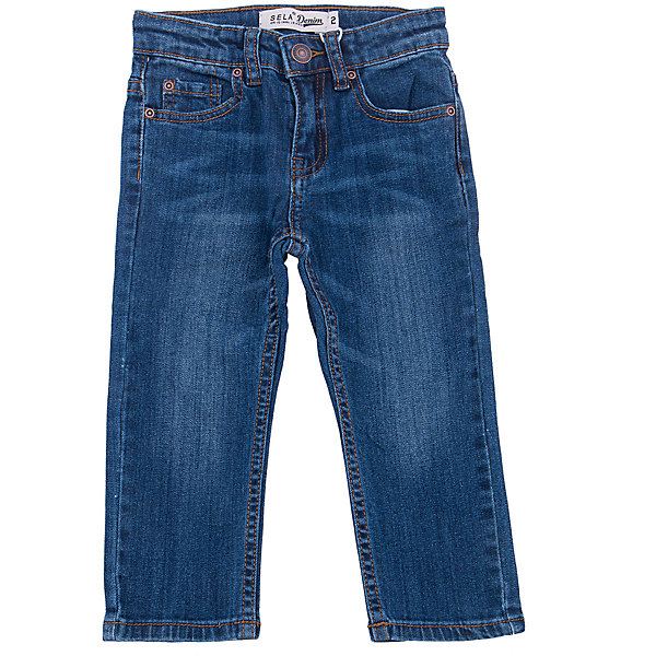 SELA Джинсы для мальчика SELA sela sela джинсы для мальчика голубые