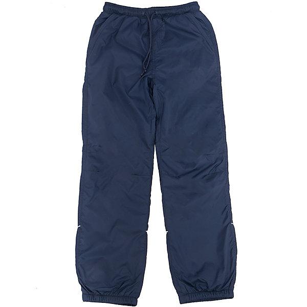 Брюки для мальчика SELAСпортивная одежда<br>Характеристики товара:<br><br>• цвет: тёмно-синий<br>• состав: верх: 100% полиэстер, подкладка: 100% полиэстер<br>• температурный режим: от +5° до +15°С<br>• подкладка флис<br>• спортивный стиль<br>• имитация ширинки<br>• светоотражающие детали<br>• два втачных кармана<br>• сзади два накладных кармана на кнопке<br>• пояс: мягкая резинка со шнурком<br>• коллекция весна-лето 2017<br>• страна бренда: Российская Федерация<br><br>Вещи из новой коллекции SELA продолжают радовать удобством! Спортивные брюки помогут разнообразить гардероб и обеспечить комфорт. Они отлично сочетаются с майками, футболками, куртками. В составе материала - натуральный хлопок.<br><br>Одежда, обувь и аксессуары от российского бренда SELA не зря пользуются большой популярностью у детей и взрослых! Модели этой марки - стильные и удобные, цена при этом неизменно остается доступной. Для их производства используются только безопасные, качественные материалы и фурнитура. Новая коллекция поддерживает хорошие традиции бренда! <br><br>Брюки для мальчика от популярного бренда SELA (СЕЛА) можно купить в нашем интернет-магазине.<br>Ширина мм: 215; Глубина мм: 88; Высота мм: 191; Вес г: 336; Цвет: синий; Возраст от месяцев: 108; Возраст до месяцев: 120; Пол: Мужской; Возраст: Детский; Размер: 140,134,128,122,152,146; SKU: 5302680;