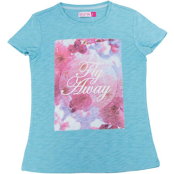 Фотография товара футболка для девочки SELA (5303539)