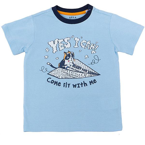 Фотография товара футболка  для мальчика SELA (5303821)