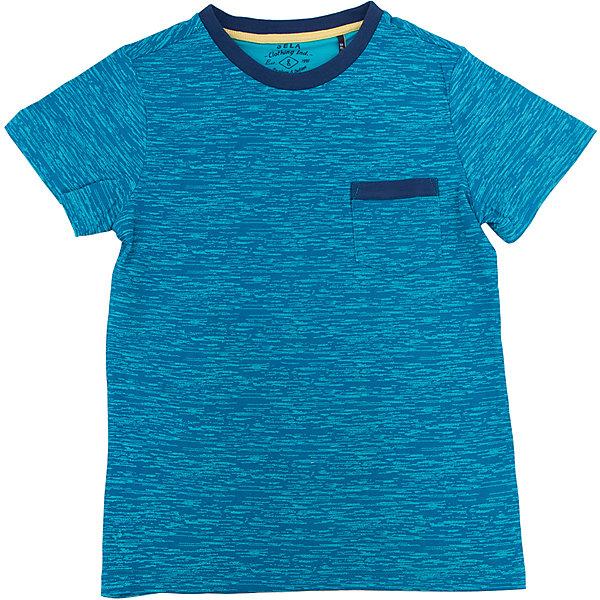 Футболка для мальчика SELAФутболки, поло и топы<br>Характеристики товара:<br><br>• цвет: синий<br>• состав: 60% хлопок, 40% ПЭ<br>• принт<br>• короткие рукава<br>• округлый горловой вырез<br>• страна бренда: Российская Федерация<br><br>В новой коллекции SELA отличные модели одежды! Эта футболка для мальчика поможет разнообразить гардероб ребенка и обеспечить комфорт. Она отлично сочетается с джинсами и брюками. Удобная базовая вещь!<br><br>Футболку для мальчика от популярного бренда SELA (СЕЛА) можно купить в нашем интернет-магазине.<br>Ширина мм: 230; Глубина мм: 40; Высота мм: 220; Вес г: 250; Цвет: синий; Возраст от месяцев: 132; Возраст до месяцев: 144; Пол: Мужской; Возраст: Детский; Размер: 152,140,134,128,122,116,146; SKU: 5303985;