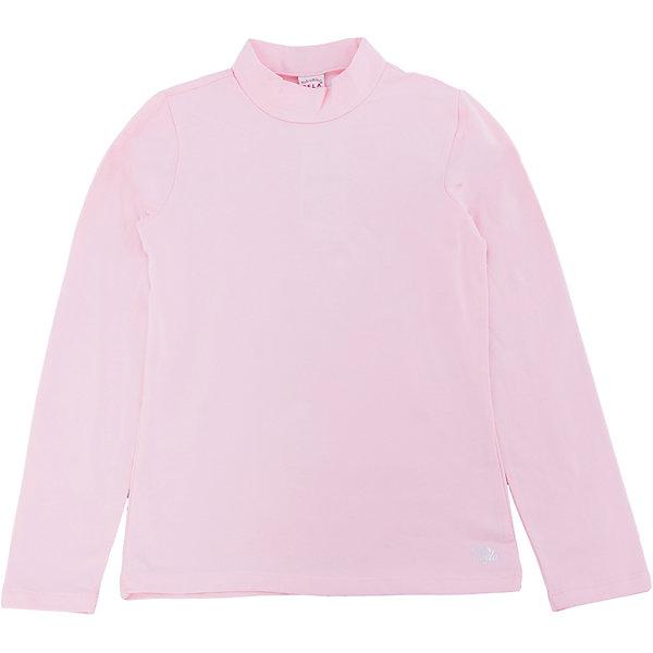 SELA Водолазка для девочки SELA джемпер для девочки sela цвет пыльно розовый jr 614 1007 8331 размер 140 10 лет