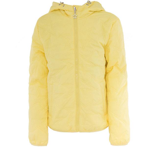 Куртка для девочки SELAВерхняя одежда<br>Характеристики товара:<br><br>• цвет: желтый<br>• состав: 100% нейлон; утеплитель: 100% ПЭ; подкладка: 100% хлопок; подкладка рукава: 100% ПЭ<br>• температурный режим: от +5°до +15°С<br>• демисезон<br>• прямой силуэт<br>• молния<br>• фактурный узор<br>• капюшон не отстёгивается<br>• капюшон дополнен эластичным шнурком со стопперами<br>• два втачных кармана на кнопках<br>• внутренний накладной карман<br>• светоотражающие элементы<br>• коллекция весна-лето 2017<br>• страна бренда: Российская Федерация<br><br>Вещи из новой коллекции SELA продолжают радовать удобством! Легкая куртка для девочки поможет разнообразить гардероб ребенка и обеспечить комфорт. Она отлично сочетается с юбками и брюками. Очень стильно смотрится!<br><br>Одежда, обувь и аксессуары от российского бренда SELA не зря пользуются большой популярностью у детей и взрослых! Модели этой марки - стильные и удобные, цена при этом неизменно остается доступной. Для их производства используются только безопасные, качественные материалы и фурнитура. Новая коллекция поддерживает хорошие традиции бренда! <br><br>Куртку для девочки от популярного бренда SELA (СЕЛА) можно купить в нашем интернет-магазине.<br>Ширина мм: 356; Глубина мм: 10; Высота мм: 245; Вес г: 519; Цвет: желтый; Возраст от месяцев: 84; Возраст до месяцев: 96; Пол: Женский; Возраст: Детский; Размер: 128,140,116,152; SKU: 5305168;