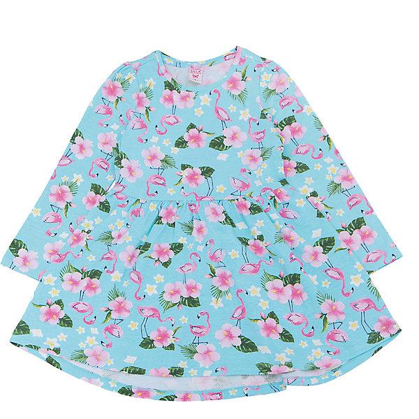 Купить Платье для девочки SELA, Китай, голубой, 110, 92, 116, 104, 98, Женский