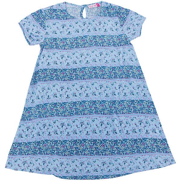 Платье для девочки SELAПлатья и сарафаны<br>Характеристики товара:<br><br>• цвет: голубой<br>• состав: 100% вискоза<br>• сезон: лето<br>• принт<br>• длина выше колена<br>• корткие рукава<br>• страна бренда: Россия<br><br>Платье для девочки поможет разнообразить гардероб ребенка и обеспечить комфорт.  Оно отлично сочетается с босоножками, сандалями или туфельками. Стильная и удобная вещь!<br><br>Одежда, обувь и аксессуары от российского бренда SELA не зря пользуются большой популярностью у детей и взрослых!<br><br>Платье для девочки от популярного бренда SELA (СЕЛА) можно купить в нашем интернет-магазине.<br>Ширина мм: 236; Глубина мм: 16; Высота мм: 184; Вес г: 177; Цвет: голубой; Возраст от месяцев: 72; Возраст до месяцев: 84; Пол: Женский; Возраст: Детский; Размер: 122,140,134,128,152,146; SKU: 5305448;