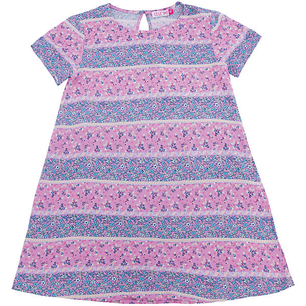 Платье для девочки SELAПлатья и сарафаны<br>Характеристики товара:<br><br>• цвет: лиловый<br>• состав: 100% вискоза<br>• сезон: лето<br>• принт<br>• длина выше колена<br>• корткие рукава<br>• страна бренда: Россия<br><br>Платье для девочки поможет разнообразить гардероб ребенка и обеспечить комфорт.  Оно отлично сочетается с босоножками, сандалями или туфельками. Стильная и удобная вещь!<br><br>Одежда, обувь и аксессуары от российского бренда SELA не зря пользуются большой популярностью у детей и взрослых!<br><br>Платье для девочки от популярного бренда SELA (СЕЛА) можно купить в нашем интернет-магазине.<br>Ширина мм: 236; Глубина мм: 16; Высота мм: 184; Вес г: 177; Цвет: лиловый; Возраст от месяцев: 132; Возраст до месяцев: 144; Пол: Женский; Возраст: Детский; Размер: 152,134,128,122,146,140; SKU: 5305455;