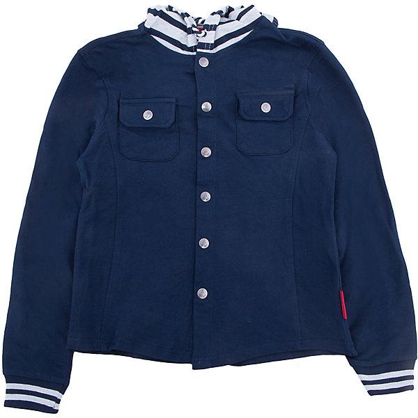 Куртка для мальчика SELAВерхняя одежда<br>Характеристики товара:<br><br>• цвет: синий<br>• состав: 100% хлопок<br>• без утеплителя<br>• температурный режим: от +10С<br>• сезон: демисезон<br>• мягкие манжеты<br>• капюшон с шнурком-утяжкой<br>• капюшон не отстегивается<br>• застежка: пуговицы<br>• низ - мягкая резинка<br>• дышащий материал<br>• два накладных нагрудных кармана<br>• страна бренда: Российская Федерация<br>• страна производства: Бангладеш<br><br>Ветровка с капюшоном для мальчика. Синяя ветровка застёгивается на пуговицы, капюшон утягивается шнурком. Рукава и подол на мягкой резинке. <br><br>Куртку для мальчика от популярного бренда SELA (СЕЛА) можно купить в нашем интернет-магазине.<br>Ширина мм: 356; Глубина мм: 10; Высота мм: 245; Вес г: 519; Цвет: синий; Возраст от месяцев: 132; Возраст до месяцев: 144; Пол: Мужской; Возраст: Детский; Размер: 152,140,134,128,122,146; SKU: 5305734;