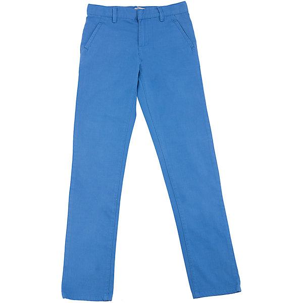 Брюки для мальчика SELAБрюки<br>Характеристики товара:<br><br>• цвет: синий<br>• состав: 100% хлопок<br>• классический силуэт<br>• карманы<br>• шлевки<br>• сезон: демисезон<br>• страна бренда: Россия<br><br>Вещи из новой коллекции SELA продолжают радовать удобством! Стильные брюки для мальчика помогут разнообразить гардероб ребенка и стать базовой вещью. Они отлично сочетаются с рубашками, футболками, куртками. Универсальный цвет позволяет подобрать к вещи верх разных расцветок. <br>Одежда, обувь и аксессуары от российского бренда SELA не зря пользуются большой популярностью у детей и взрослых! Модели этой марки - стильные и удобные, цена при этом неизменно остается доступной. Для их производства используются только безопасные, качественные материалы и фурнитура. Новая коллекция поддерживает хорошие традиции бренда! <br><br>Брюки для мальчика от популярного бренда SELA (СЕЛА) можно купить в нашем интернет-магазине.<br>Ширина мм: 215; Глубина мм: 88; Высота мм: 191; Вес г: 336; Цвет: синий; Возраст от месяцев: 84; Возраст до месяцев: 96; Пол: Мужской; Возраст: Детский; Размер: 122,152,146,140,134,128; SKU: 5305906;
