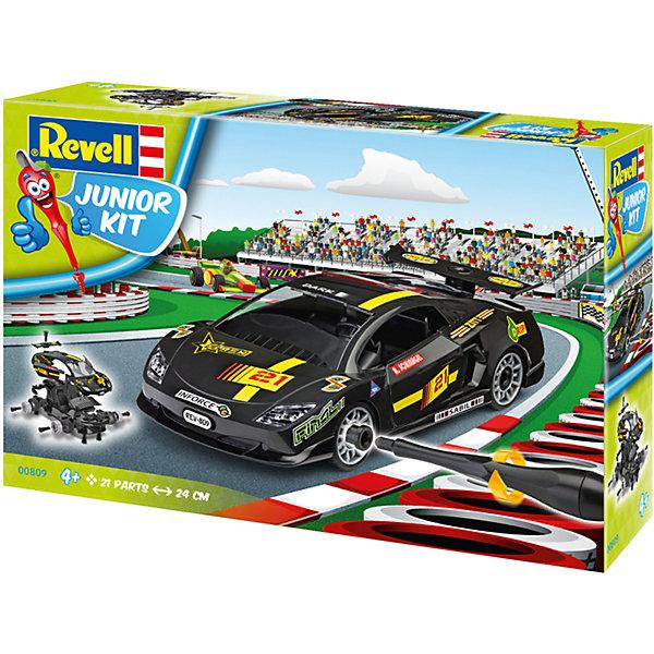 Набор для детей Гоночный автомобиль, черныйАвтомобили<br>Характеристики товара:<br><br>• возраст: от 4 лет;<br>• цвет: черный;<br>• масштаб: 1:20;<br>• количество деталей: 30 шт;<br>• длина модели: 24 см.;<br>• материал: пластик;<br>• клей и краски в комплект не входят;<br>• бренд, страна бренда: Revell (Ревел),Германия;<br>• страна-изготовитель: Польша.<br><br>Набор для детей «Гоночный автомобиль» поможет вам и вашему ребенку придумать увлекательное занятие на долгое время, а также получить замечательную игрушку. Модель имеет интересный дизайн и очень хорошо детализирована.<br><br>С помощью 30 пластиковых деталей, наклеек, инструкции и пластиковой отвертки из набора ребенок соберет машину скорой помощи. Модель имеет интересный дизайн и очень хорошо детализирована. Колеса машинки вращаются. Двери и капот открываются. Собранная модель может послужить мальчику интересной игрушкой. Кроме того, ребенок может разобрать автомобиль и попробовать собрать его снова за более короткий промежуток времени.<br><br>Сборка модели поможет развить мелкую моторику рук, познакомит с техническим творчеством и обучит ребенка работе с простейшими инструментами. <br><br>Набор для детей «Гоночный автомобиль», 30 дет., Revell (Ревел) можно купить в нашем интернет-магазине.<br>Ширина мм: 298; Глубина мм: 218; Высота мм: 76; Вес г: 446; Возраст от месяцев: 48; Возраст до месяцев: 96; Пол: Мужской; Возраст: Детский; SKU: 5311341;