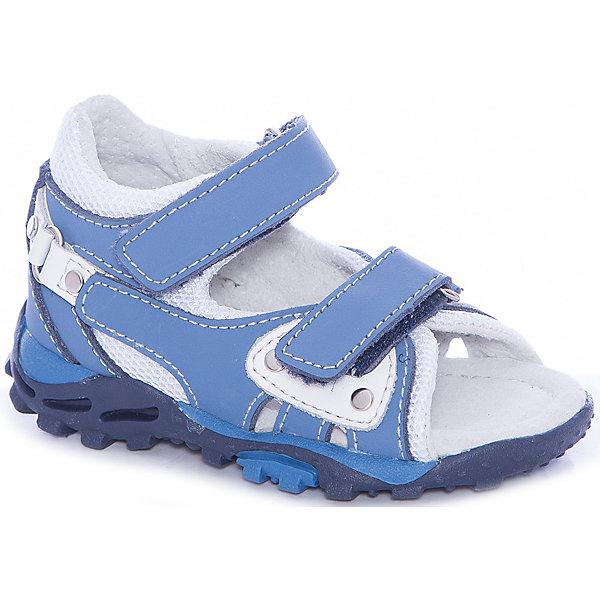 MURSU Сандалии для мальчика MURSU сандалии для мальчика mursu цвет голубой 208619 размер 32
