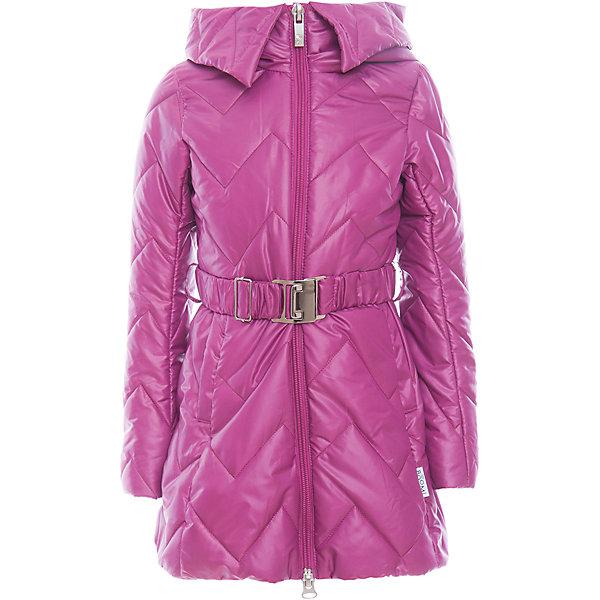 Купить Пальто для девочки BOOM by Orby, Россия, фиолетовый, Женский