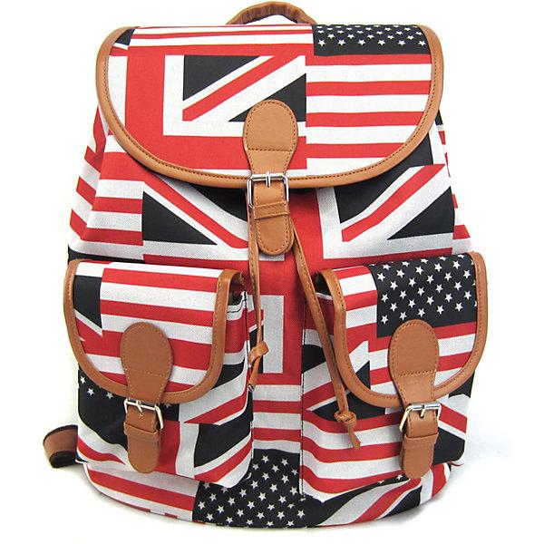 Рюкзак British Flag с 2-мя карманами, цвет мультиРюкзаки<br>Эта красно-бело-черная расцветка – на пике популярности уже не первый сезон! С таким стильным и удобным рюкзаком его владелица точно не останется незамеченной, даже в суете большого города! Этот аксессуар органично впишется в современный подростковый стиль, а благодаря функциональности и удобству – станет любимым и незаменимым!<br>Ширина мм: 39; Глубина мм: 35; Высота мм: 17; Вес г: 500; Возраст от месяцев: 120; Возраст до месяцев: 420; Пол: Унисекс; Возраст: Детский; SKU: 5344316;