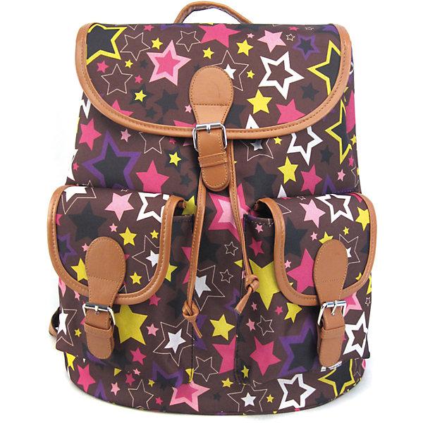 Creative LLC Рюкзак Звездопад с 2-мя карманами, цвет мульти