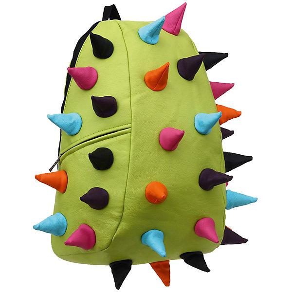 Рюкзак Rex Full  Lime Multi, цвет лайм мультиРюкзаки<br>Стильный и практичный рюкзак уместный в ритме большого города. Основное отделение закрывается на молнию. Внутри изделия есть отделение для ноутбука с максимальным размером диагонали 17 дюймов. По бокам - два дополнительных кармана на молнии. Модель помимо лямки для переноски в руке, мягких и широких регулируемых бретелей снабжена фиксацией на груди. Полностью вентилируемая и ортопедическая  спинка создаёт дополнительный комфорт Вашей спине.<br>Ширина мм: 46; Глубина мм: 36; Высота мм: 20; Вес г: 800; Возраст от месяцев: 120; Возраст до месяцев: 420; Пол: Унисекс; Возраст: Детский; SKU: 5344329;