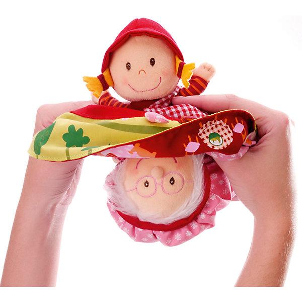 Lilliputiens Игрушка-сказка Красная Шапочка двусторонняя Lilliputiens lilliputiens курочка офелия музыкальная игрушка