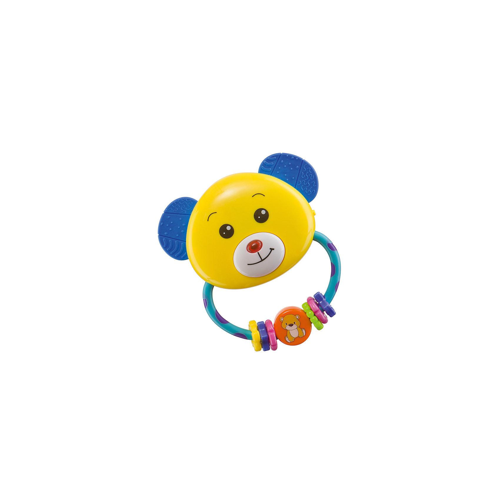 Погремушка-прорезыватель UMKAS, Happy Baby