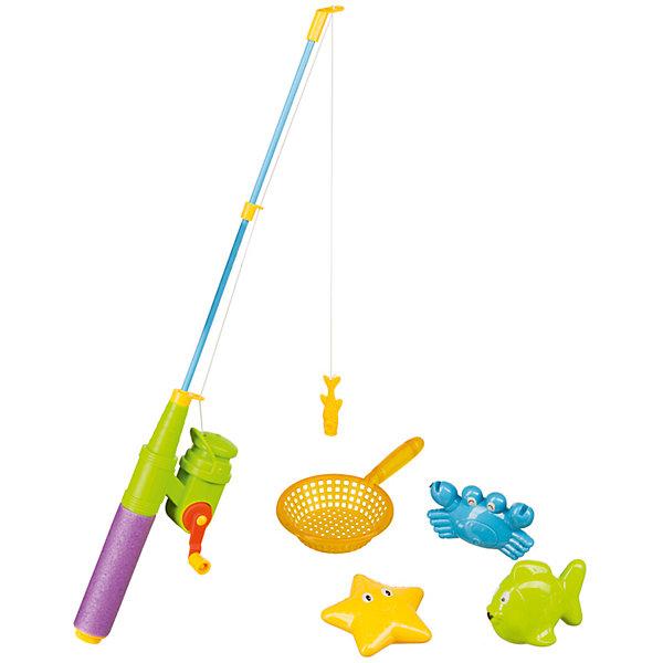 Happy Baby Набор игрушек для ванной LITTLE FISHMAN, Happy Baby игровой набор happy baby genius для ванной