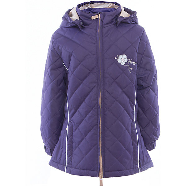 Куртка для девочки RIMMA HuppaВерхняя одежда<br>Характеристики товара:<br><br>• цвет: тёмно-фиолетовый<br>• ткань: 100% полиэстер<br>• подкладка: тафта - 100% полиэстер<br>• утеплитель: 100% полиэстер 100 г<br>• температурный режим: от -5°С до +10°С<br>• водонепроницаемость: 5000 мм<br>• воздухопроницаемость: 5000 мм<br>• светоотражающие детали<br>• эластичные манжеты<br>• молния<br>• съёмный капюшон с резинкой<br>• декорирована вышивкой<br>• карманы на молнии<br>• комфортная посадка<br>• коллекция: весна-лето 2017<br>• страна бренда: Эстония<br><br>Эта стильная куртка обеспечит детям тепло и комфорт. Она сделана из материала, отталкивающего воду, и дополнено подкладкой с утеплителем, поэтому изделие идеально подходит для межсезонья. Материал изделия - с мембранной технологией: защищая от влаги и ветра, он легко выводит лишнюю влагу наружу. Для удобства сделан капюшон. Куртка очень симпатично смотрится, яркая расцветка и крой добавляют ему оригинальности. Модель была разработана специально для детей.<br><br>Одежда и обувь от популярного эстонского бренда Huppa - отличный вариант одеть ребенка можно и комфортно. Вещи, выпускаемые компанией, качественные, продуманные и очень удобные. Для производства изделий используются только безопасные для детей материалы. Продукция от Huppa порадует и детей, и их родителей!<br><br>Куртку для девочки RIMMA от бренда Huppa (Хуппа) можно купить в нашем интернет-магазине.<br>Ширина мм: 356; Глубина мм: 10; Высота мм: 245; Вес г: 519; Цвет: розовый; Возраст от месяцев: 36; Возраст до месяцев: 48; Пол: Женский; Возраст: Детский; Размер: 104,158,152,146,140,134,128,122,116,110; SKU: 5346894;