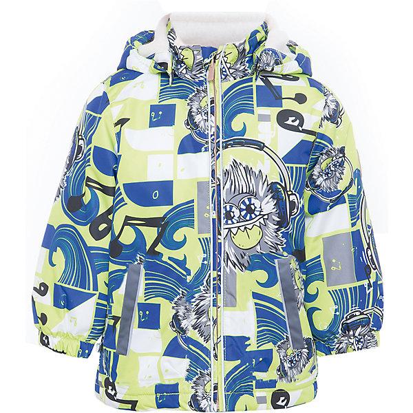Куртка JODY для мальчика HuppaДемисезонные куртки<br>Характеристики товара:<br><br>• цвет: лайм/синий<br>• ткань: 100% полиэстер<br>• подкладка: тафта - 100% полиэстер<br>• утеплитель: 100% полиэстер 100 г<br>• температурный режим: от -5°С до +15°С<br>• водонепроницаемость: 10000 мм<br>• воздухопроницаемость: 10000 мм<br>• светоотражающие детали<br>• эластичные манжеты<br>• молния<br>• съёмный капюшон<br>• комфортная посадка<br>• коллекция: весна-лето 2017<br>• страна бренда: Эстония<br><br>Эта стильная куртка обеспечит детям тепло и комфорт. Она сделана из материала, отталкивающего воду, и дополнено подкладкой с утеплителем, поэтому изделие идеально подходит для межсезонья. Материал изделия - с мембранной технологией: защищая от влаги и ветра, он легко выводит лишнюю влагу наружу. Для удобства сделан капюшон. Куртка очень симпатично смотрится, яркая расцветка и крой добавляют ему оригинальности. Модель была разработана специально для детей.<br><br>Одежда и обувь от популярного эстонского бренда Huppa - отличный вариант одеть ребенка можно и комфортно. Вещи, выпускаемые компанией, качественные, продуманные и очень удобные. Для производства изделий используются только безопасные для детей материалы. Продукция от Huppa порадует и детей, и их родителей!<br><br>Куртку JODY от бренда Huppa (Хуппа) можно купить в нашем интернет-магазине.<br>Ширина мм: 356; Глубина мм: 10; Высота мм: 245; Вес г: 519; Цвет: зеленый; Возраст от месяцев: 72; Возраст до месяцев: 84; Пол: Мужской; Возраст: Детский; Размер: 122,152,146,140,134,128,116,110,104,98,92; SKU: 5346997;