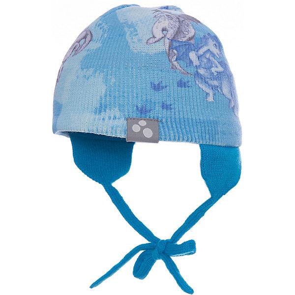 Шапка CAIRO для мальчика HuppaДемисезонные<br>Характеристики товара:<br><br>• цвет: светло-голубой принт<br>• состав: 100% акрил<br>• температурный режим: от 0°С до +10°С<br>• демисезонная<br>• логотип<br>• защита ушей<br>• комфортная посадка<br>• завязки<br>• мягкий материал<br>• страна бренда: Эстония<br><br>Эта шапка обеспечит детям тепло и комфорт. Она сделана из приятного на ощупь мягкого материала. Шапка очень симпатично смотрится, а дизайн и расцветка позволяют сочетать её с различной одеждой. Модель была разработана специально для детей.<br><br>Одежда и обувь от популярного эстонского бренда Huppa - отличный вариант одеть ребенка можно и комфортно. Вещи, выпускаемые компанией, качественные, продуманные и очень удобные. Для производства изделий используются только безопасные для детей материалы. Продукция от Huppa порадует и детей, и их родителей!<br><br>Шапку CAIRO от бренда Huppa (Хуппа) можно купить в нашем интернет-магазине.<br>Ширина мм: 89; Глубина мм: 117; Высота мм: 44; Вес г: 155; Цвет: синий; Возраст от месяцев: 72; Возраст до месяцев: 120; Пол: Мужской; Возраст: Детский; Размер: 55-57,43-45,47-49,51-53; SKU: 5347667;
