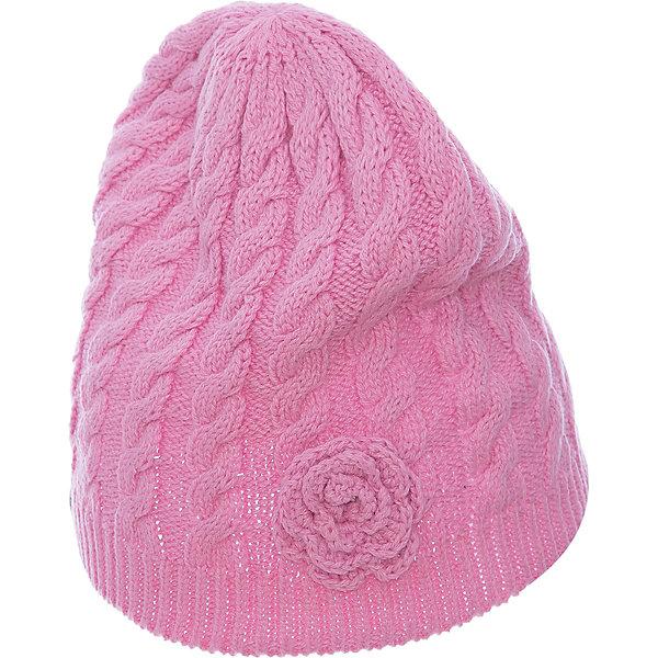 Шапка ROOSI для девочки HuppaГоловные уборы<br>Характеристики товара:<br><br>• цвет: розовый<br>• состав: 60% хлопок 40% акрил<br>• температурный режим: от 0°до +10°С<br>• демисезонная<br>• логотип<br>• фактурная вязка<br>• комфортная посадка<br>• украшена цветком<br>• мягкий материал<br>• страна бренда: Эстония<br><br>Эта шапка обеспечит детям тепло и комфорт. Она преимущественно сделана из приятного на ощупь дышащего и гипоаллергенного хлопка. Шапка очень симпатично смотрится, а дизайн и расцветка позволяют сочетать её с различной одеждой. Модель была разработана специально для детей.<br><br>Одежда и обувь от популярного эстонского бренда Huppa - отличный вариант одеть ребенка можно и комфортно. Вещи, выпускаемые компанией, качественные, продуманные и очень удобные. Для производства изделий используются только безопасные для детей материалы. Продукция от Huppa порадует и детей, и их родителей!<br><br>Шапку ROOSI от бренда Huppa (Хуппа) можно купить в нашем интернет-магазине.<br>Ширина мм: 89; Глубина мм: 117; Высота мм: 44; Вес г: 155; Цвет: розовый; Возраст от месяцев: 72; Возраст до месяцев: 120; Пол: Женский; Возраст: Детский; Размер: 55-57,57,47-49,51-53; SKU: 5347725;
