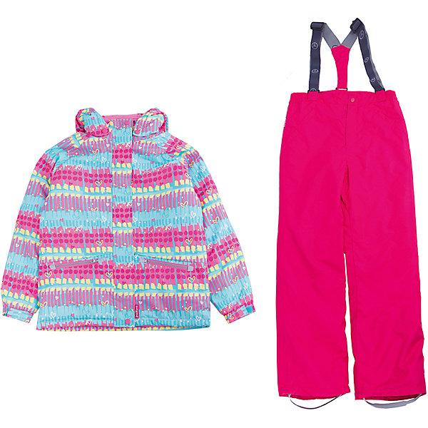 Фотография товара комплект: куртка и полукомбинезон для девочки Premont (5352943)