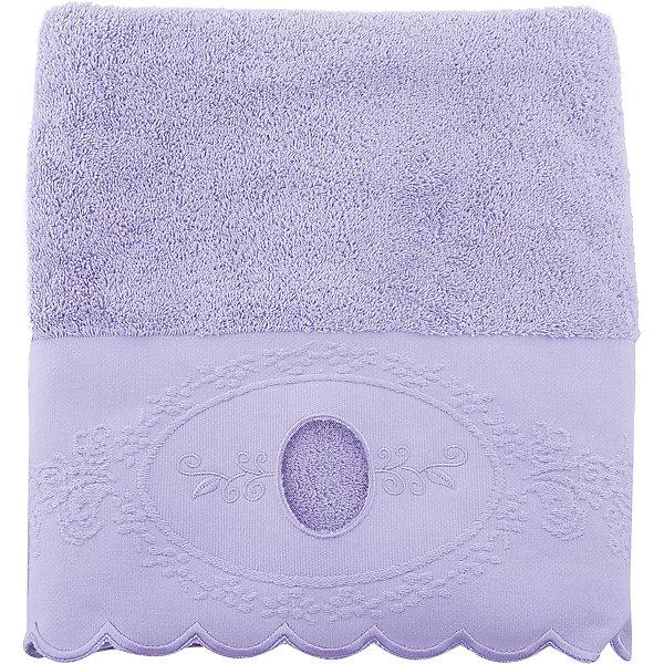 Cozy Home Полотенце махровое 70*140 Жаклин, Home, лиловый