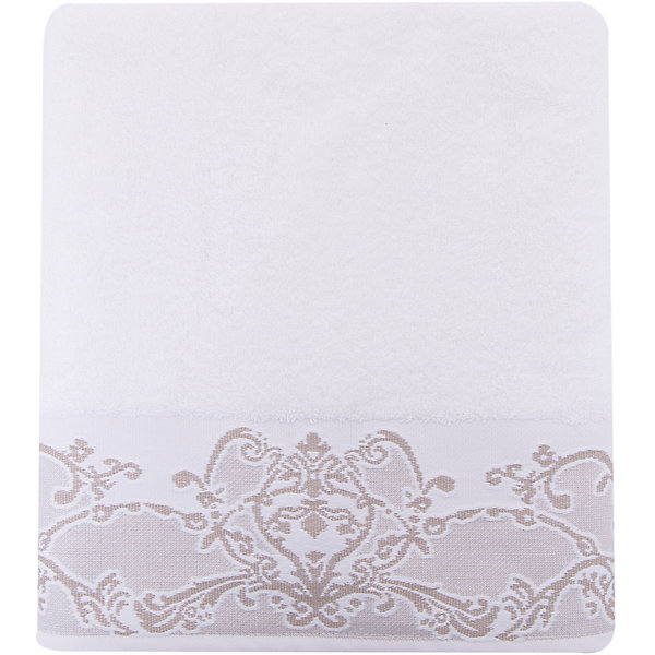 Cozy Home Полотенце махровое 70*140 Лукреция, Home, белый