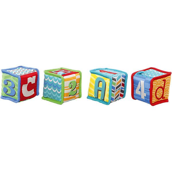 Kids II Мягкие кубики Bright Starts Весёлая учёба