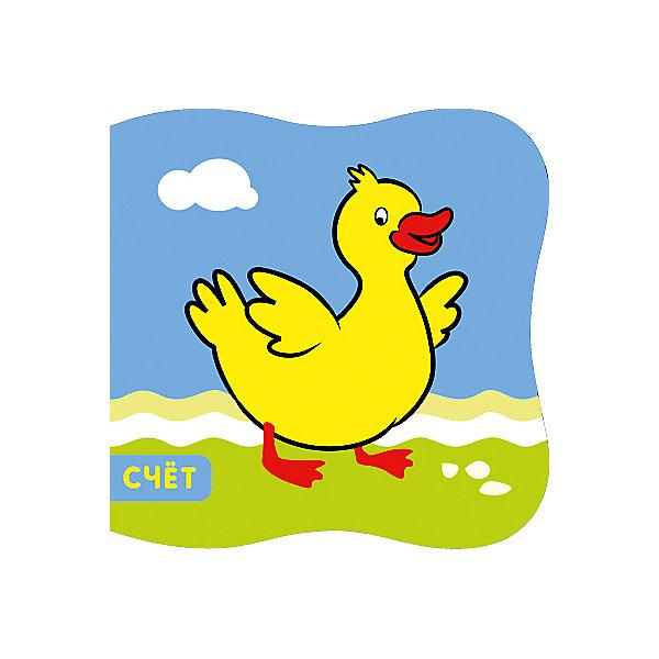 Мозаика-Синтез Книжка для ванной Утёнок, Купашки игрушки для ванны мозаика синтез книжка для купания купашки кораблик