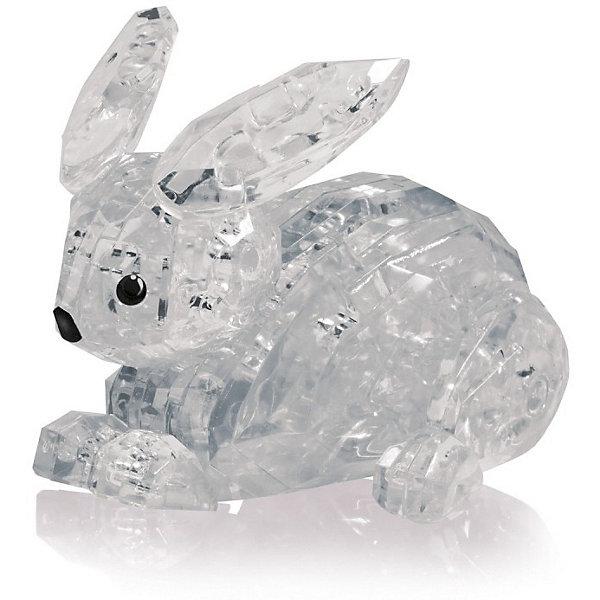 Кристаллический пазл 3D Заяц L3D пазлы<br>Характеристики товара:<br><br>• возраст: от 14 лет;<br>• материал: пластик;<br>• в комплекте: 56 элементов, инструкция;<br>• размер упаковки: 18х14х4 см;<br>• вес упаковки: 96 гр.;<br>• страна производитель: Китай.<br><br>Кристаллический пазл 3D «Заяц» Educational Line позволит собрать объемную фигурку из пластиковых прозрачных деталей пазла. Все детали прочно соединяются между собой и крепко держатся. В процессе сборки пазла развиваются мелкая моторика рук, усидчивость, внимательность, логическое мышление. <br><br>Кристаллический пазл 3D «Заяц» Educational Line можно приобрести в нашем интернет-магазине.<br>Ширина мм: 13; Глубина мм: 18; Высота мм: 4; Вес г: 128; Возраст от месяцев: 168; Возраст до месяцев: 2147483647; Пол: Унисекс; Возраст: Детский; SKU: 5362956;