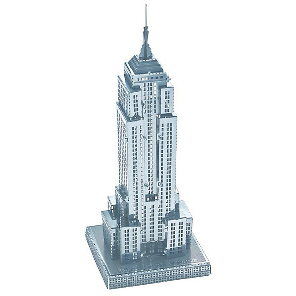 Educational Line Сборная модель-3D Небоскреб Empire State Building L model building kits compatible with lego city fire car 586 3d blocks educational model
