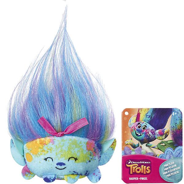 Hasbro Плюшевая мини-фигурка, Тролли, Харпер Пинсель B9913/C0488 hasbro коллекционная фигурка trolls тролли харпер 10 см