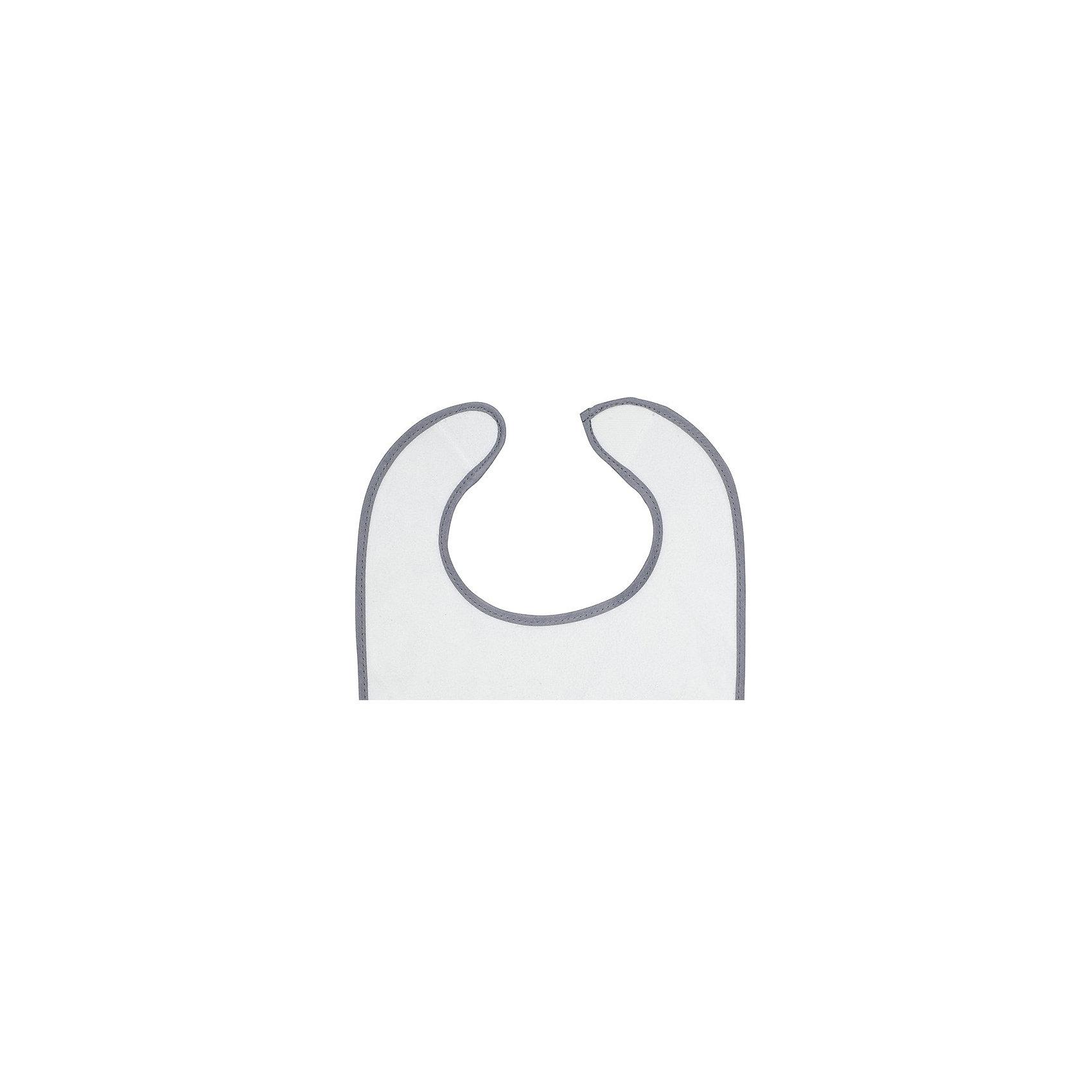 Комплект махровых нагрудников, 3 шт, Jollein, Little star grey (jollein)