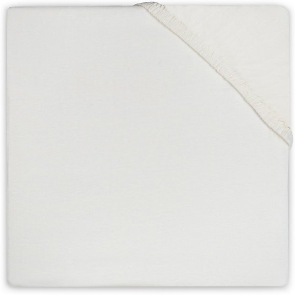 jollein Простыня на резинке 60х120 см, Jollein, Ecru простыня на резинке ирис размер 60х120 см