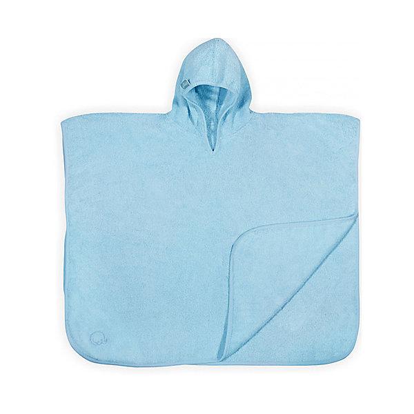 Купить Полотенце-пончо 60 х70 см, Jollein, Light blue, Китай, Мужской