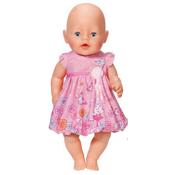 Zapf Creation Платье для куклы, розовое, BABY born платье для кукол zapf creation baby born розовое платье цвет в ассортименте