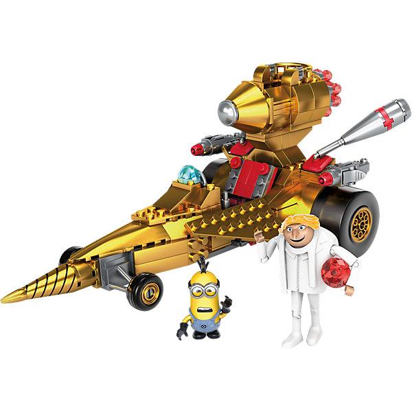 Mattel Гадкий Я: машина Дру, MEGA BLOKS конструктор mega bloks гадкий я табличка для имени 230 элементов