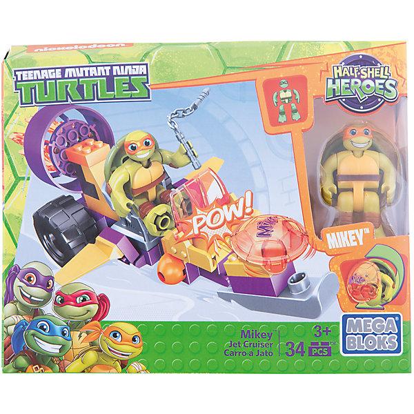 Маленькие герои – черепашки: набор транспортных средств, MEGA BLOKSПластмассовые конструкторы<br>Характеристики:<br><br>• тип игрушки: игровой набор;<br>• возраст: от 5 лет;<br>• размер: 12х15х5 см;<br>• бренд: Mega Bloks;<br>• материал: пластик;<br>• страна бренда: Канада.<br><br>Маленькие герои – черепашки: набор транспортных средств, MEGA BLOKS будет замечательным подарком для каждого ребенка. Когда город в опасности, юные фанаты черепашек спешат на помощь с коллекцией «Черепашки-ниндзя на багги» от Mega Bloks.<br>Выбери черепаший багги Лео, реактивный вездеход Мики или панцирный мотоцикл Рафа. <br><br>Эти транспортные средства вооружены пусковыми установками. Посади черепашку на сиденье водителя и мчись на защиту города. Или сверни его в ниндзя-шар и отправь в бой. Простая система сборки для маленьких строителей. Совмещай с другими наборами Mega Bloks, если готов к новым черепашьим приключениям.<br><br>Маленьких героев – черепашки: набор транспортных средств, MEGA BLOKS<br> можно купить в нашем интернет-магазине.<br>Ширина мм: 50; Глубина мм: 150; Высота мм: 190; Вес г: 171; Возраст от месяцев: 60; Возраст до месяцев: 120; Пол: Мужской; Возраст: Детский; SKU: 5378240;