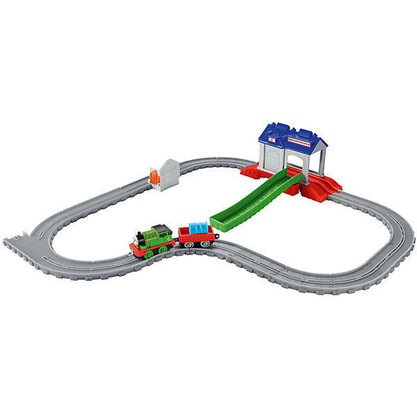 Игровой набор Перси в спасательном центре, Томас и его друзьяПопулярные игрушки<br>Игровой набор Перси в спасательном центре, Томас и его друзья.<br><br>Характеристики:<br><br>• В наборе: элементы железной дороги, поисково-спасательный центр, паровозик Перси, грузовой вагон, цистерна, домик с имитацией пламени<br>• Материал: пластик<br>• Длина паровозика: 14 см.<br>• Упаковка: картонная коробка<br>• Размер упаковки: 30х25х7 см.<br><br>Паровозик Перси спешит на помощь, на острове пожар – загорелся дом, который уже объят языками пламени! Необходимо срочно добраться до спасательной станции и погрузив в вагон цистерну с водой, доставить её на место пожара. Как только вода будет подвезена, необходимо поставить цистерну на домик и нажать на пластиковый элемент имитирующий языки пламени. <br><br>Отважный паровозик Перси, несомненно, справится с задачей, и огонь будет потушен! А ваш ребенок получит положительные эмоции от захватывающей игры. Все элементы набора выполнены из высококачественного пластика и покрыты нетоксичными красками.<br><br>Игровой набор Перси в спасательном центре, Томас и его друзья можно купить в нашем интернет-магазине.<br>Ширина мм: 305; Глубина мм: 65; Высота мм: 245; Вес г: 550; Возраст от месяцев: 36; Возраст до месяцев: 120; Пол: Мужской; Возраст: Детский; SKU: 5378280;