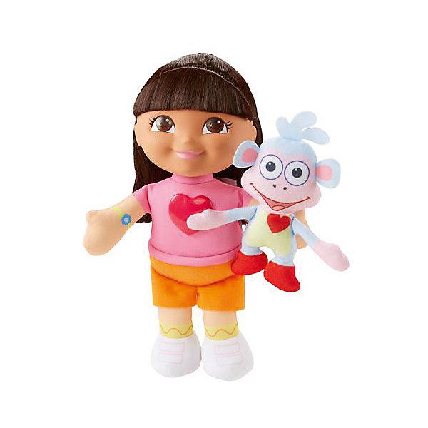 Поющая кукла Даша и Башмачок, Fisher Price, Даша-путешественницаДаша-путешественница<br>Характеристики товара:<br><br>• комплектация: игрушка, упаковка <br>• материал: пластик, текстиль<br>• серия: Даша-путешественница<br>• возраст: от трех лет<br>• для девочек<br>• габариты игрушки: 23x12х7 см<br>• вес: 0,218 кг<br>• страна бренда: США<br>• страна изготовитель: Китай<br><br>Даша – путешественница – кукла, созданная по мотивам одноименного фильма. Кукла одета в яркие красивые наряды и обладает роскошными волосами, которые можно расчесывать и делать прически. Издает звуковые эффекты. Стоит отметить, что все товары, выпускаемые компанией Mattel, полностью безопасны и соответствуют международным  требованиям по качеству материалов. <br><br>Игрушку Поющая кукла Даша и Башмачок, Fisher Price, Даша-путешественница» можно приобрести в нашем интернет-магазине.<br>Ширина мм: 115; Глубина мм: 240; Высота мм: 330; Вес г: 725; Возраст от месяцев: 36; Возраст до месяцев: 120; Пол: Женский; Возраст: Детский; SKU: 5378292;